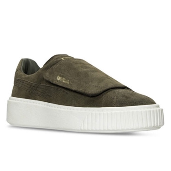 7898b33a5 Puma Shoes | Suede Platform Shoe From Athleta | Poshmark